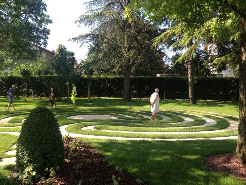 Labirinto Kepos Giardino Paesaggio Ambiente Kepos