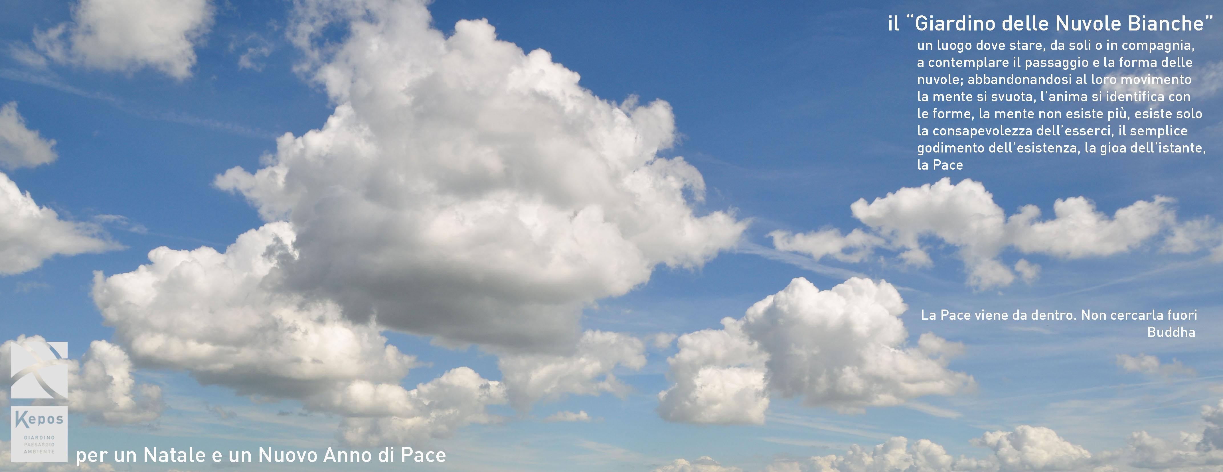Il Giardino delle Nuvole - Auguri da Kepos