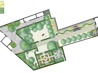Kepos_Planimetria Giardino dei Giardini
