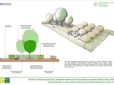 Giardino riabilitativo dettagli di progetto 2