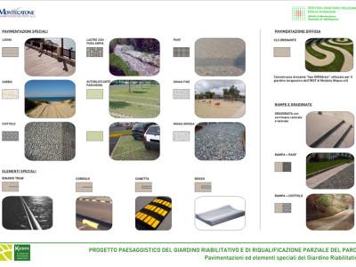 Giardino riabilitativo dettagli di progetto