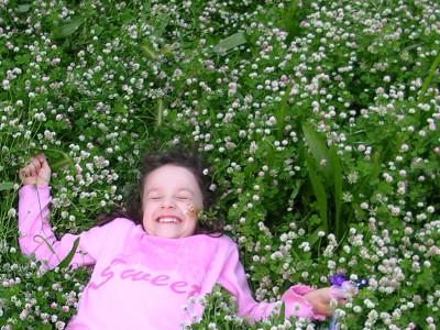Felicità in giardino