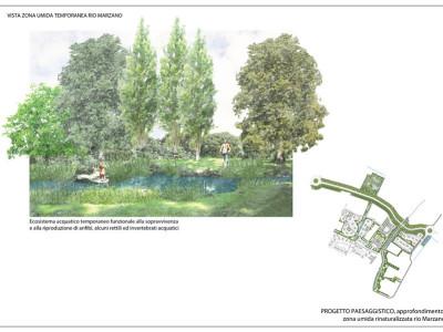 Area umida rinaturalizzazione rio Marzano