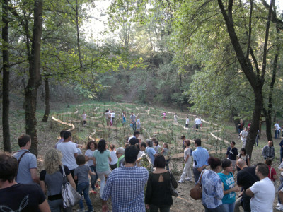 Inaugurazione del Labirinto