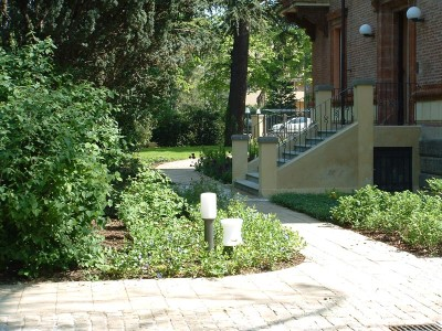Vista del Giardino e della Villa