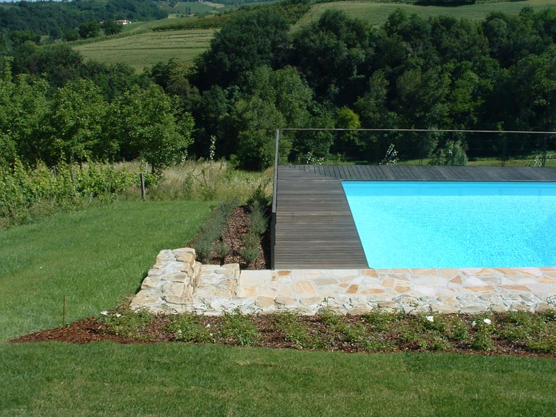 Giardino con piscina kepos giardino paesaggio ambiente for Giardino con piscina